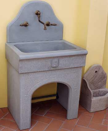 A nannini fiesole lavorazione pietre e marmi lavello - Lavelli cucina in pietra ...