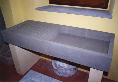 a. nannini  fiesole  lavorazione pietre e marmi lavello, Disegni interni