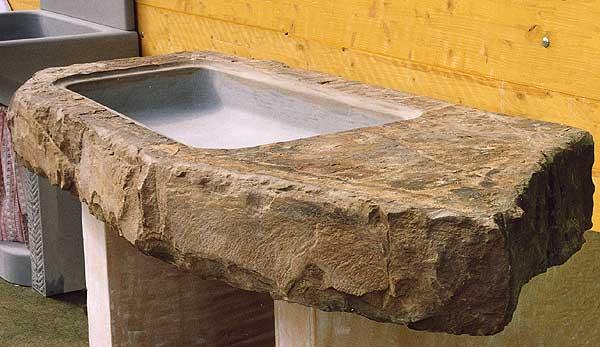 A. Nannini - Marmisti in Fiesole - Acquai in pietra forte